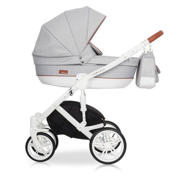 Детская универсальная коляска 2 в 1 Riko Naturo 01 Grey Fox