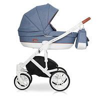 Детская универсальная коляска 2 в 1 Riko Naturo 05 Denim