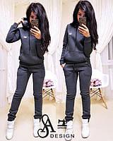 Костюм спортивный теплый модный свитшот с капюшоном и штаны Dmil1194