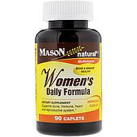 Mason Natural, Ежедневная формула для женщин, 90 капсуловидных таблеток