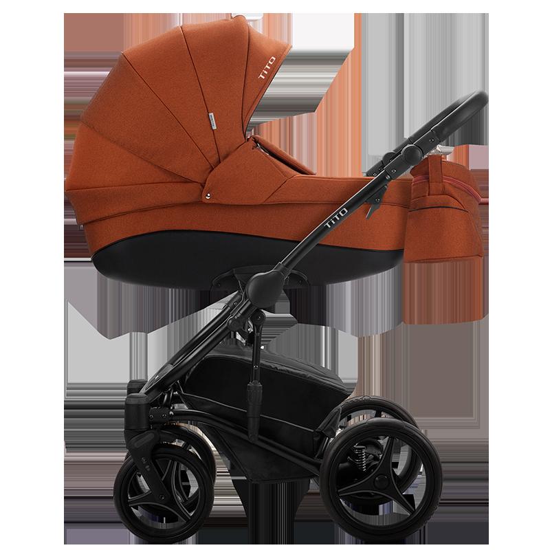 Детская универсальная коляска 2 в 1 Bebetto Tito 05