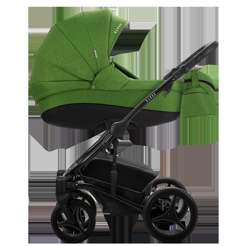 Детская универсальная коляска 2 в 1 Bebetto Tito 06