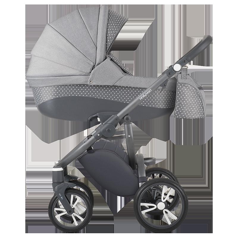 Детская универсальная коляска 2 в 1 Bebetto Holland W39