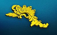 Угловой декор 9 резные уголки - 120х60 мм