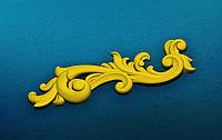 Угловой декор 11 резные уголки - 190х60 мм