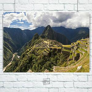 Постер Мачу-Пикчу, Перу. Machu Picchu (60x85см)