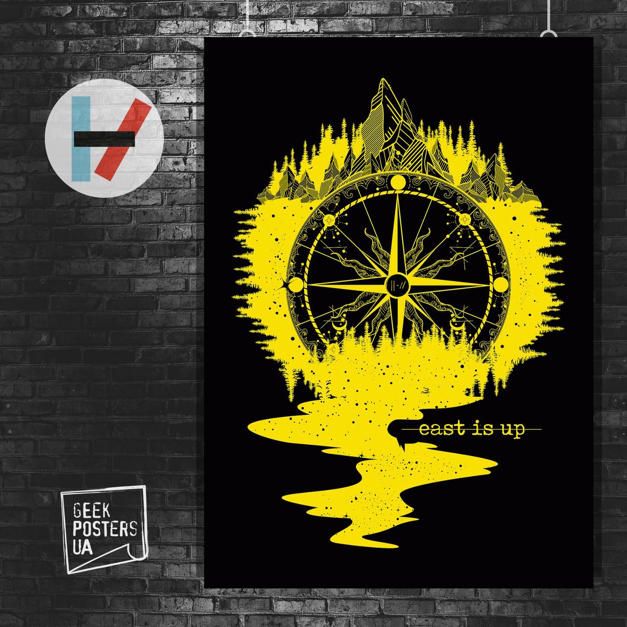 Постер Twenty One Pilots, 21 Pilots. Размер 60x42см (A2). Глянцевая бумага