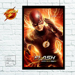 Постер Flash, Флэш (60x85см)
