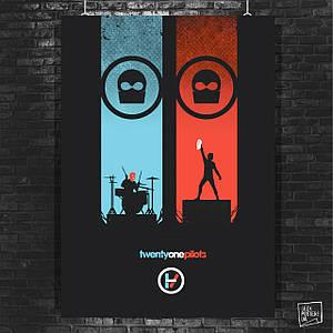 Постер Twenty One Pilots, 21 Pilots (60x85см)