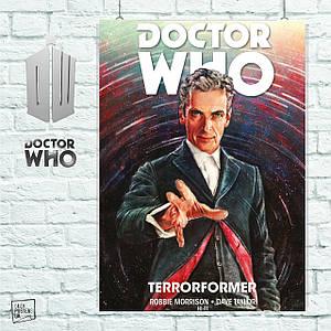 Постер Доктор Кто, Dr.Who, Terraformer. Размер 60x40см (A2). Глянцевая бумага