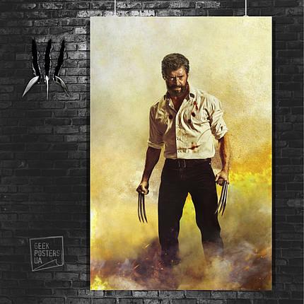 Постер Росомаха, Логан, The Wolverine. Размер 60x42см (A2). Глянцевая бумага, фото 2