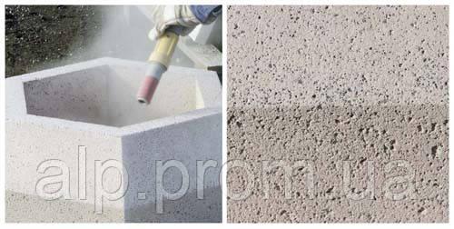Пескоструйная обработка бетона