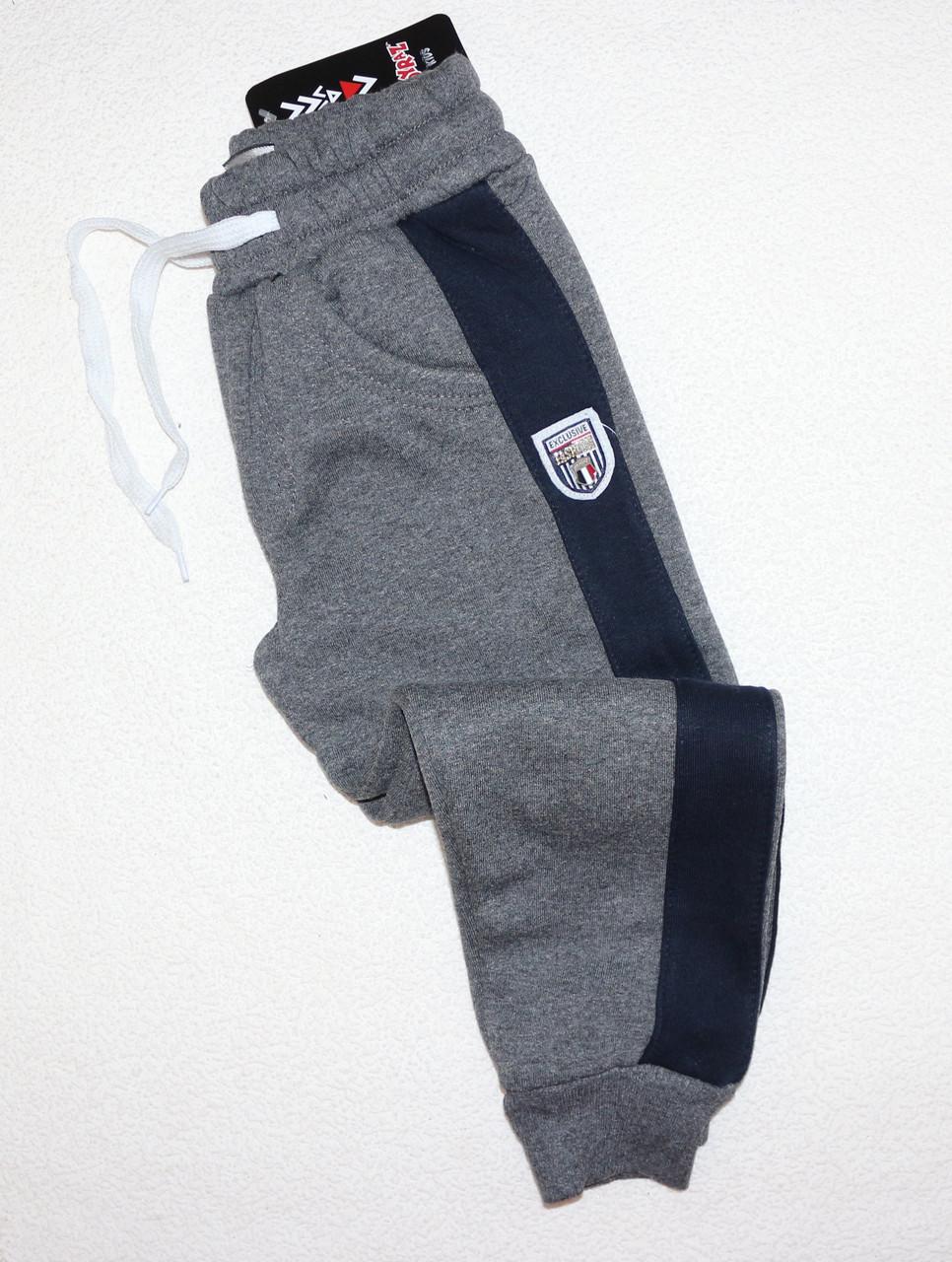 Спортивные штаны на мальчика (начес) 8,9,10,11 лет