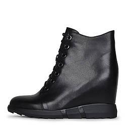 Черные сникерсы на шнурках Marcuzzi 39 скидка