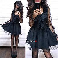Нарядное чёрное платье, фото 1