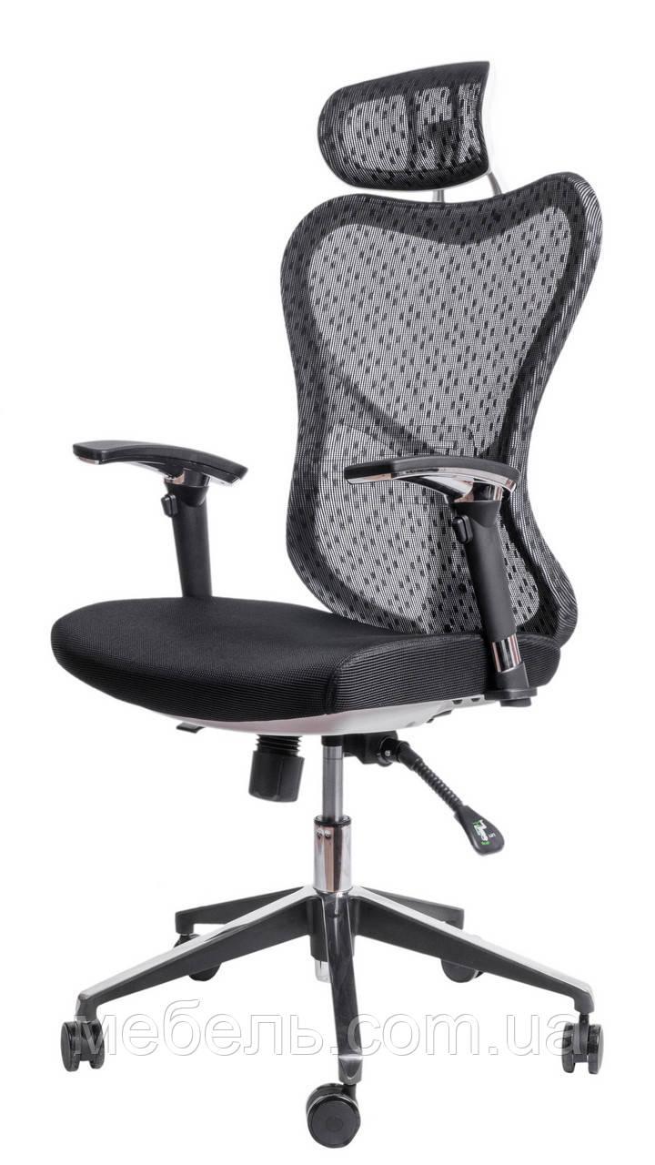 Детское компьютерное кресло Barsky Butterfly White Fly-03 black
