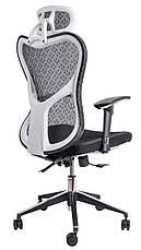 Детское компьютерное кресло Barsky Butterfly White Fly-03 black, фото 3