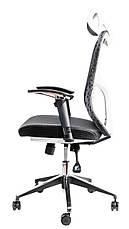Детское компьютерное кресло Barsky Butterfly White Fly-03 black, фото 2
