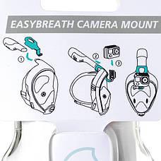 Крепление камеры для маски Tribord EASYBREATH, фото 2