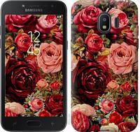 """Чехол на Samsung Galaxy J2 2018 Цветущие розы """"2701c-1351-11157"""""""