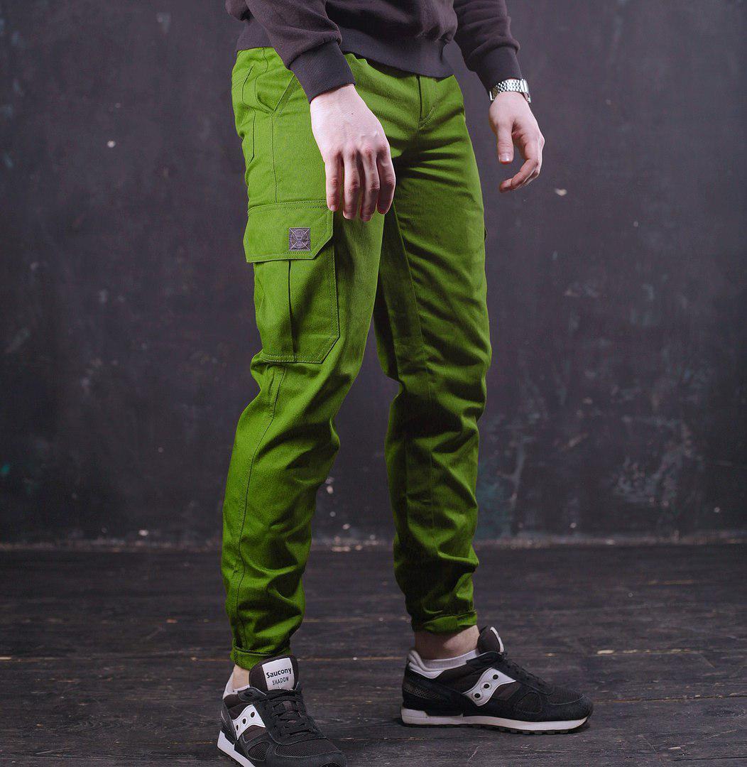 Мужские штаны Cargo Classic в ярком хаки