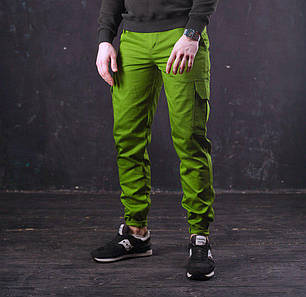 Мужские штаны Cargo Classic в ярком хаки, фото 2