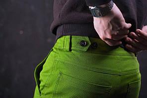 Мужские штаны Cargo Classic в ярком хаки, фото 3