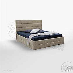 Кровать двуспальная Бристоль с подъемником ( 1800*2000) Миро Марк