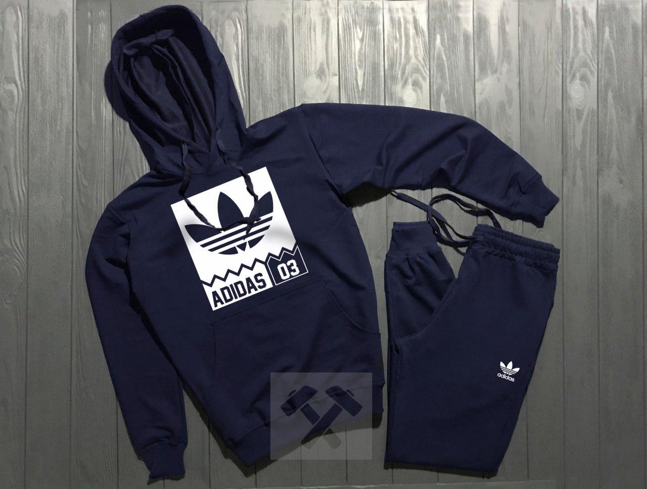 Спортивный Костюм Adidas Темно-синий Топ Реплика — в Категории ... d335b809d66