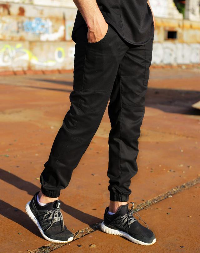 e50dee9a Мужские модные штаны Loki черные: продажа, цена в Киеве. брюки ...