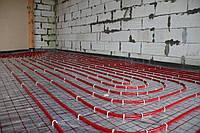 Установка водяних підлог в будинку