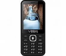 Кнопковий телефон Sigma X-style 31 Power Black
