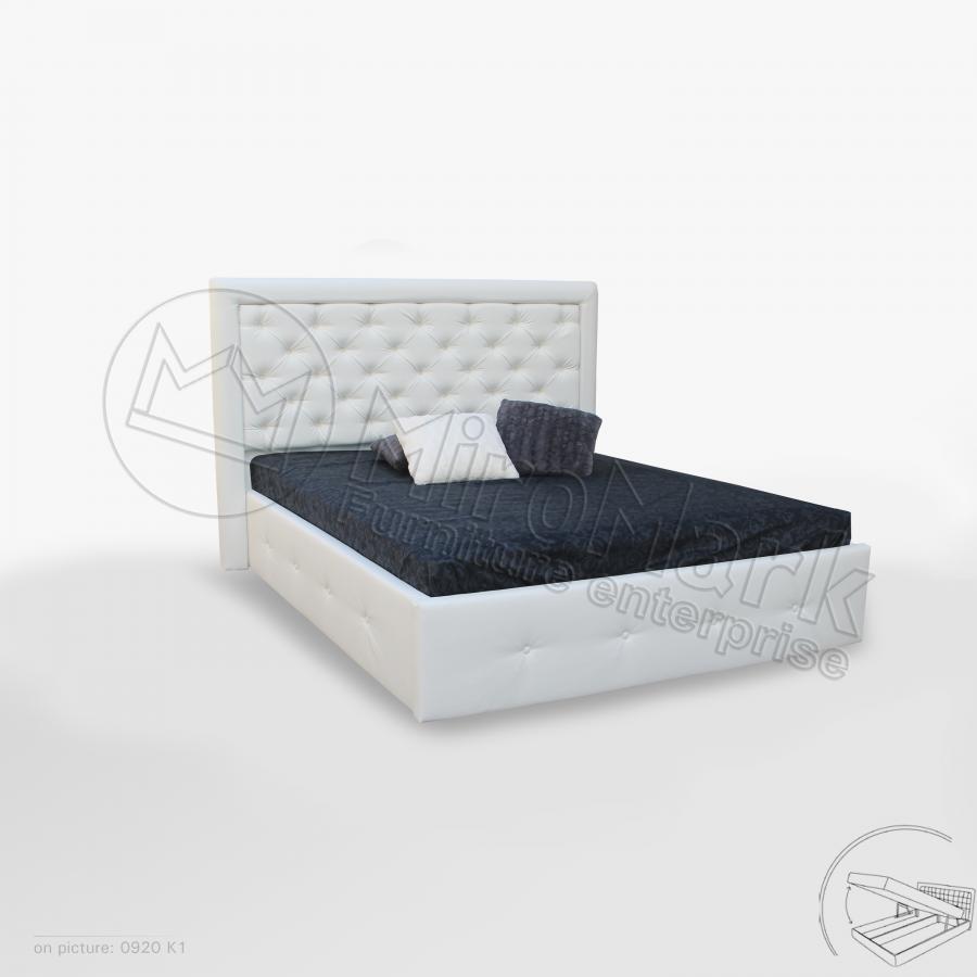 Кровать двуспальная Франко с подъемником ( 1800*2000) Миро Марк