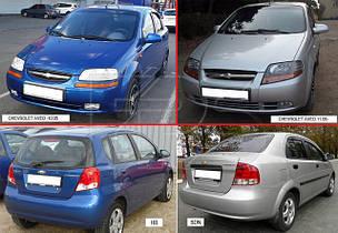 Зеркала для Chevrolet Aveo 2004-06 T200