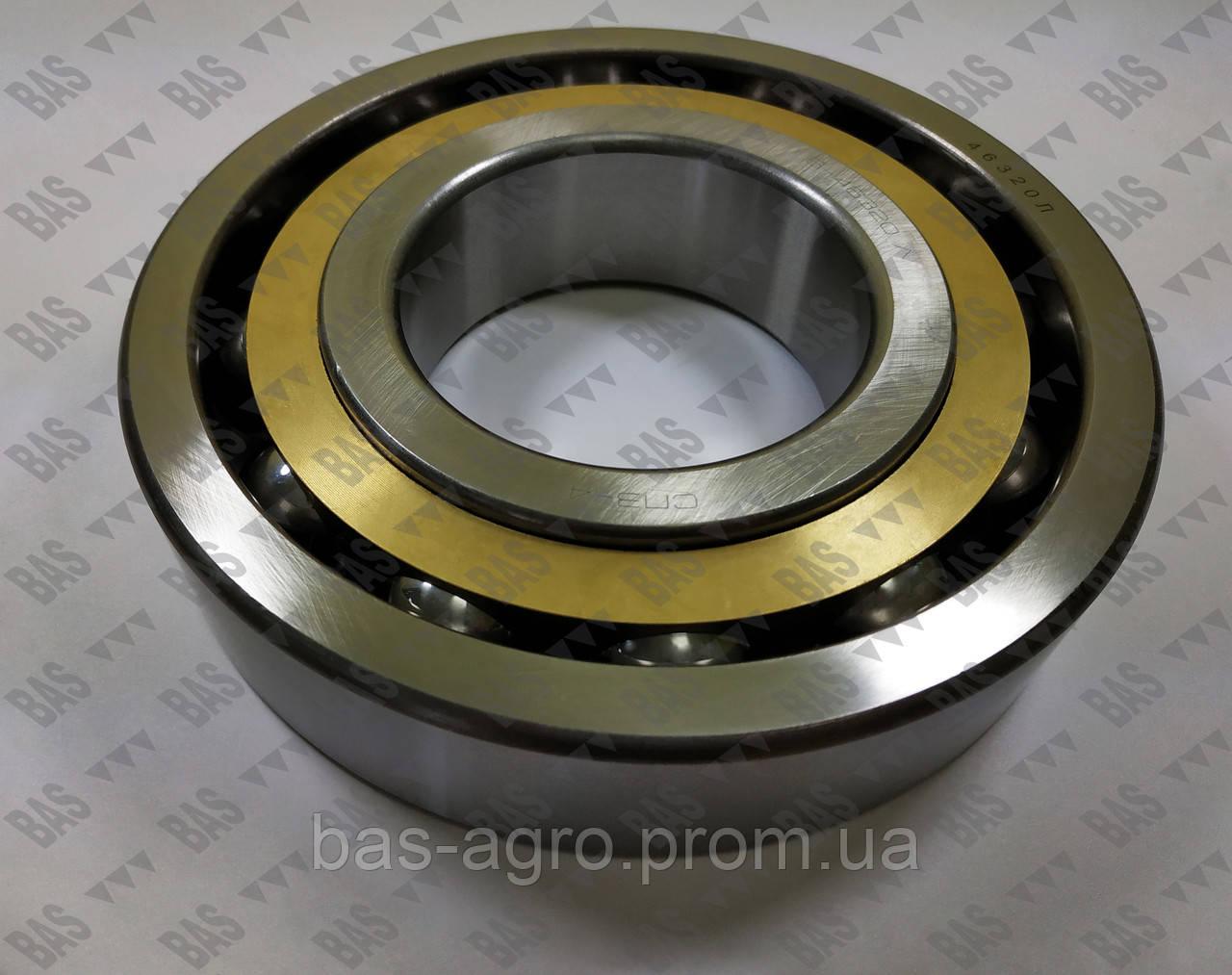 Шариковый радиально-упорный подшипник 6-46320 Л (7320ACM) СПЗ 4