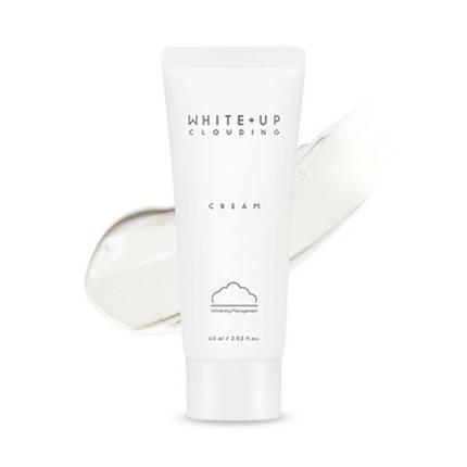 Легкий увлажняющий крем с осветляющим эффектом A'PIEU WHITE+UP CLOUDING CREAM, 60 мл, фото 2