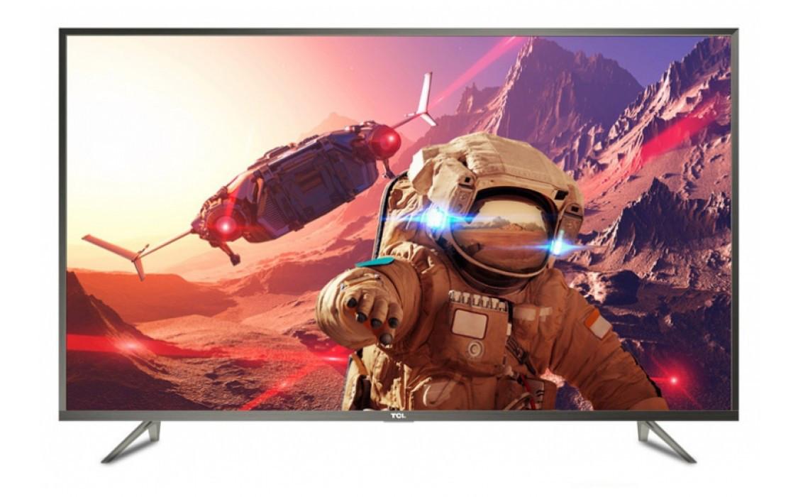 Телевизор TCL U43P6046 (PPI 1200Гц, Ultra HD 4K, Smart, Android, HDR, Dolby Digital Plus 2x16Вт, DVB-C/T2/S2)
