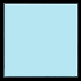 Электролюминесцентная панель (EL панель) 510*510 мм. Цвет Голубой, Бирюзовый