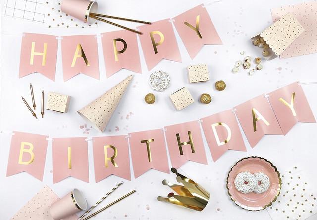 Гірлянди Happy birthday
