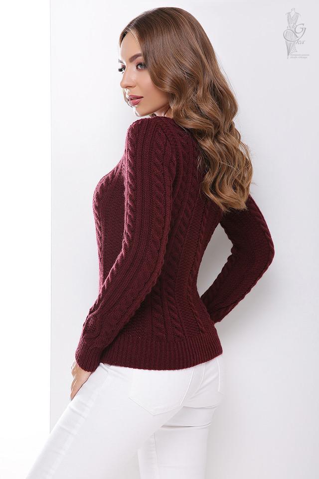 Фото-1 Вязаного женского свитера Белла-1