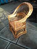 """Кресло из лозы """"Изысканное"""", фото 2"""