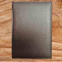 Ежедневник датированный или недатированный MIRADUR А5 (14,2х20,3 см) Коричневий, под тиснение логотипов