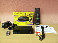 World Vision T62N цифровой эфирный тюнер DVB-T/Т2/C , фото 1