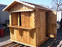 Изготовление деревянных ларьков