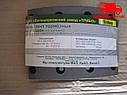 Накладки тормозные комплект с заклепками КАМАЗ (пр-во Трибо). 5511-3501105. Ціна з ПДВ. , фото 3