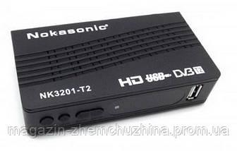Цифровой эфирный DVB-T2 приемник NOKASONIC NK 3201-T2!Акция, фото 3