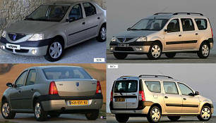 Зеркала для Dacia Logan 2004-08 SDN