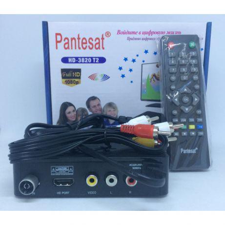 Pantesat HD-3820 DVB-T2 Ресивер, Тюнер T2 Высокое качество! ТВ Т2