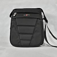 c1090ab94dc6 Стильная мужская сумка - барсетка фирмы Swissgear. Современный дизайн,  крышка с перекидным клапаном.