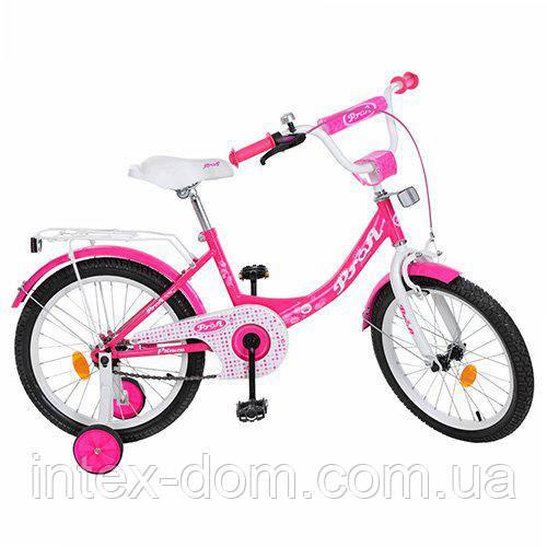 """Двухколесный велосипед Profi Princess 18"""" (Y1813)"""